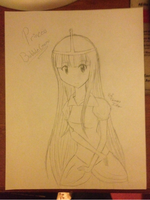 Princess Bubblegum Sketch by MoonStar34