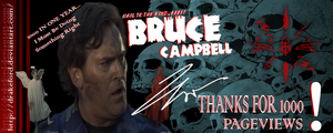 BRUCE CAMPBELL FOR 1000 by DRAKEFORD