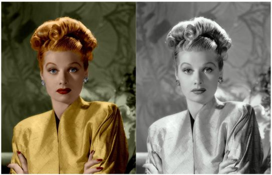 Lucille Ball Colorization by MrExcite