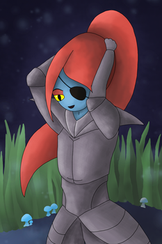 Undyne Collaboration (+Video) by InkyGoat