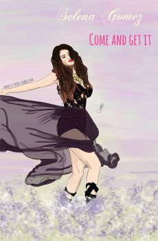 Selena Gomez Come And Get It1 by FlayingColours