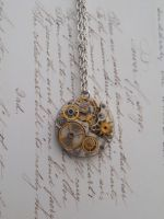 Steampunk mechanical necklace by SteamJo