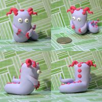Tedra the Timid Monster by TimidMonsters