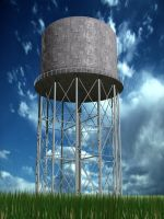 Water Tower by Toad24