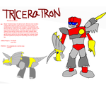 TF Infinity: Triceratron by InvaderToum
