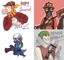 Some more TF2 related junk by radcalculator