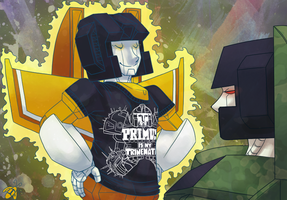 Primus is my Trinemate by Humblebot