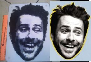 Charlie Kelly Perler Beads by vudumonkey25