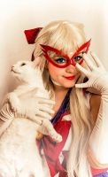 Artemis and Sailor V by Laia-pink