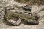 Halo-style Military Rifle by JohnsonArms