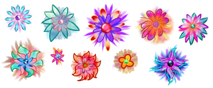 My Mythix flowers by RainbowRonnie