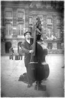 Double Bass Player by ritarocha