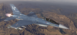 F-16C - Ustio Air Force by Jetfreak-7