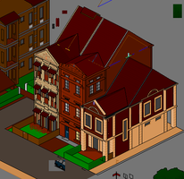 Townscape Preview - RowAp 1-22 by themozack