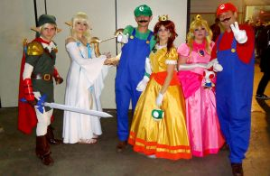Nintendo Cosplay Group Full by MistressAinley