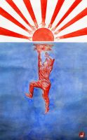 Reach out for Japan by Donghi