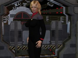 Captain Seven of Nine by davemetlesits