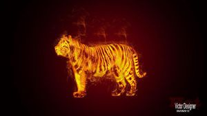 Tigre Fire by VictorDAveyron