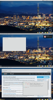 Arch Linux: Desktop Screenshot - 02/12 by artt-m