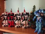 a very Drift christmas Tranformers toys by ailgara