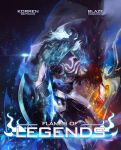 Flames of legends: Book cover by BlazeKagayaku