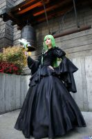 CC Code Geass Mutuality Art Book Black Gown by polence