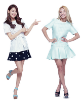PNG SooYoung and HyoYeon by jimikwon2518