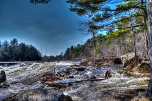 The river - HDR by InOnesMindsEye