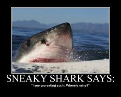 Sneaky Shark by Storm137