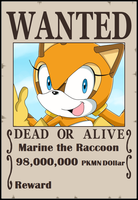 SPBWX Wanted Poster Marine by Aquamimi123