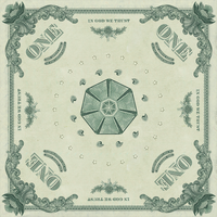 US Dollar Bill Bandana by DavisLindsay