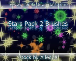 Star Brushes 2 by Ailedda by Ailedda