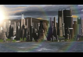 Caprica City by bagirka