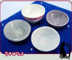 Plates 1: PC Bowls by Talty