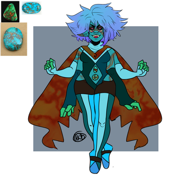 Turquoise [fusion] by AnalSaviorr