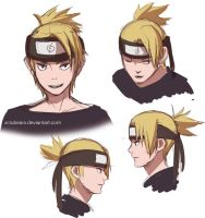 Headshots of ShikaTema's son by xCluBearx