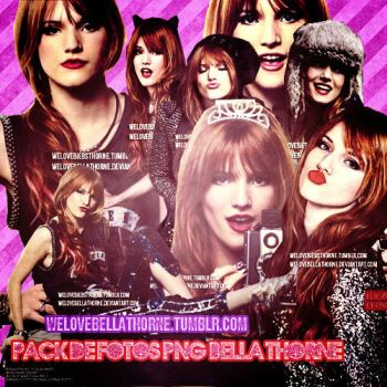 Pack PNG Bella Thorne by WeLoveBellaThorne
