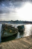 Derelict ships by doulifee