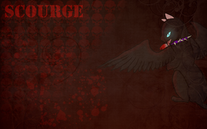 Scourge Wallpaper by Shatterwing123