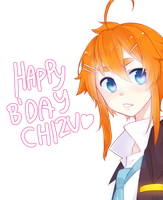 HBD CHIZU 2013 by 7mint-and-chocolate
