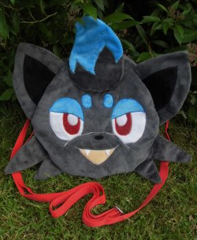 Custom Shiny Zoura bag commission by angelberries