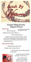 Custom Made Jewelry Requests by CelesOran