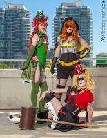 Gotham Girls by TheGeekettes