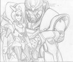 Lone Wolf and Kup by korblborp