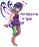 #012 (Shiny)Butterfree by theHandmaid0
