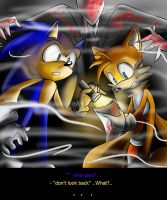 Sonic In Slenderman 1 :-dont look back-: by Assassins-C