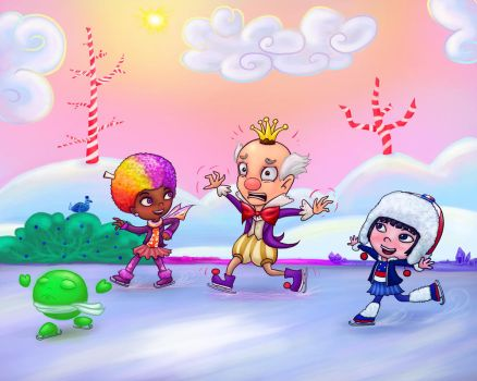 King Candy On Ice by FelixMendoza