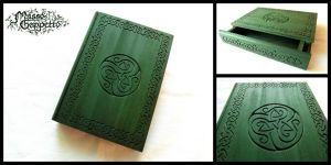CELTIC BOOK BOX by MassoGeppetto