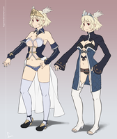 Thea costumes by feguimel