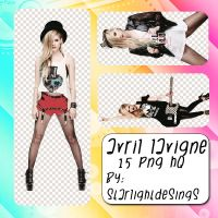 +Png Pack 086 - Avril Lavigne by StarlightDesings